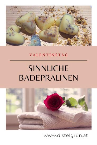Titelbild - Valentinstag - Sinnliche Badepralinen