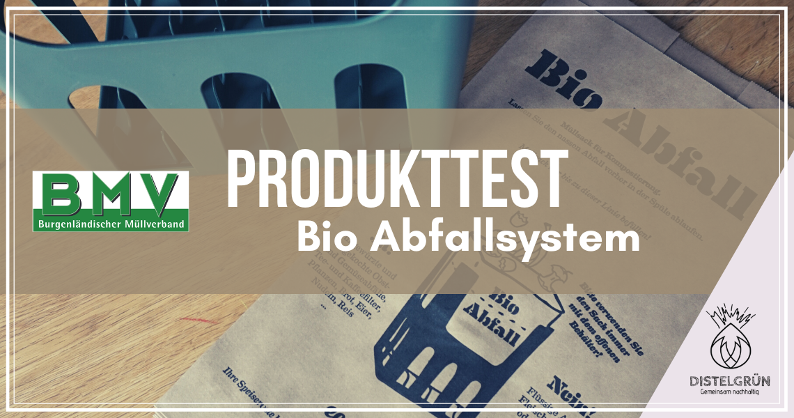 Titel Produkttest Bio Abfallsystem