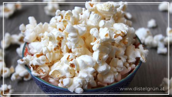 Halloween ohne Müll - Popcorn