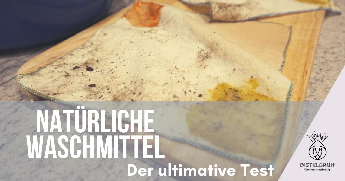 Titelbild Natürliche Waschmittel der ultimative Test